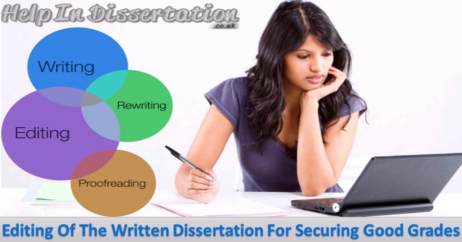 Editing Of The Written Dissertation For Securing Good Grades